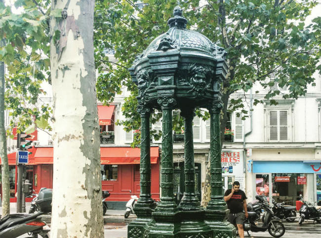 The Wallace Fountain, in Color