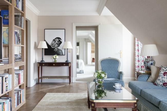The Josephine Baker Suite at Le Bristol Paris