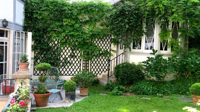 For Sale: Gorgeous St. Germain Apartment with Secluded Garden