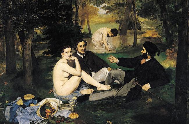 Picnic Au Naturel: Reports on a Nude Picnic in Paris