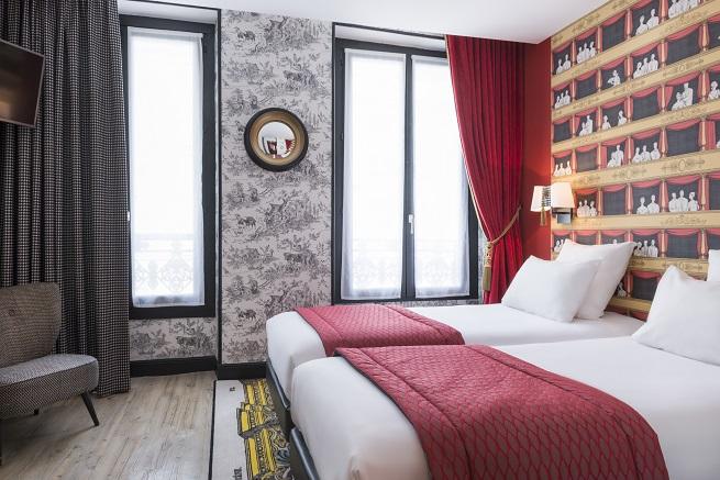 Hôtel Sacha Chambre Twin Supérieure Copy