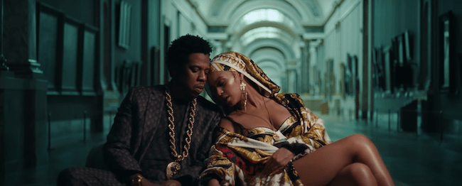 Beyoncé and Jay-Z Light up the Louvre at Night in New Music Video