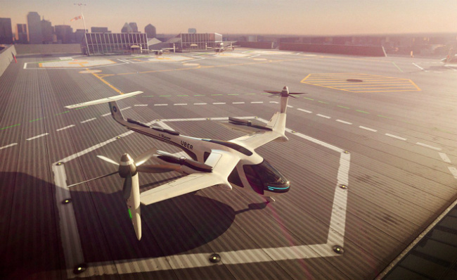 Uber Wants to Bring Flying Taxis to Paris