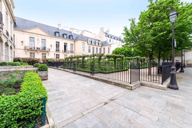 For Sale: 2-Bedroom Apartment with Balcony in the Marais District