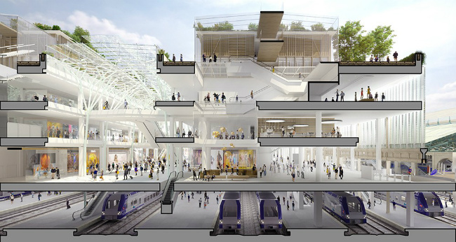 A Huge Renovation for the Gare du Nord in Paris