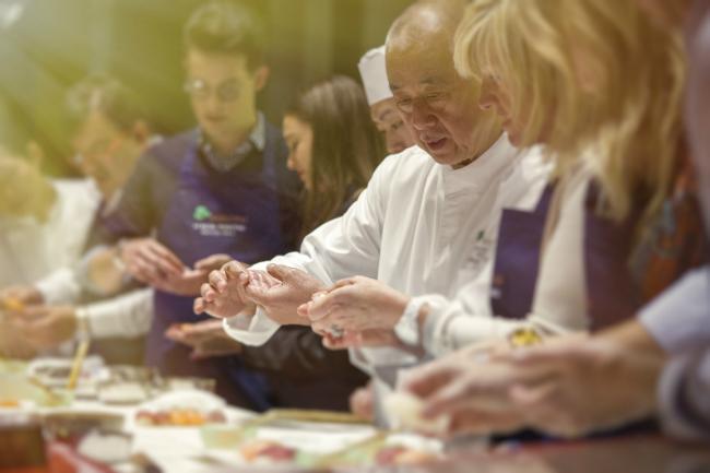 Cooking Classes with Nobu at Le Royal Monceau-Raffles in Paris