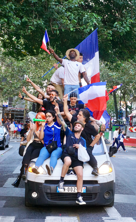 Champions of the World: France Wins 2018 World Cup