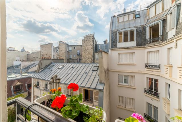 For Sale: Apartment in the Latin Quarter with Views of the Pantheon