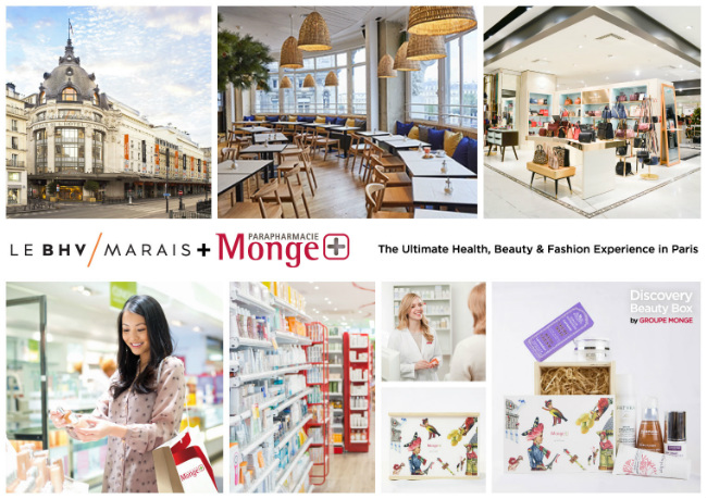 Paris Shopping: New Package Deal with Parapharmacie Monge and Le BHV Marais