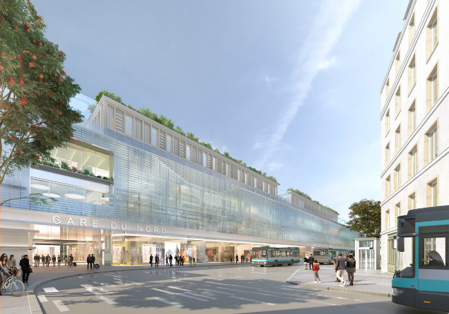 a huge renovation for the gare du nord in paris travel. Black Bedroom Furniture Sets. Home Design Ideas