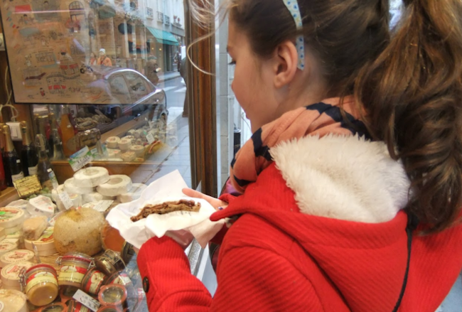 Six Tween Grandchildren Discover Parisian Food