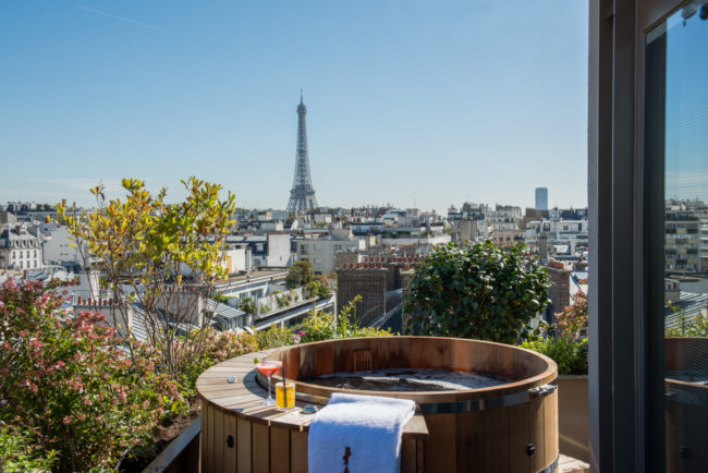 Buzz about the Brach Hotel in Paris