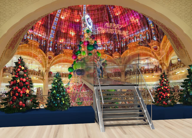 Visit Galeries Lafayette this Christmas