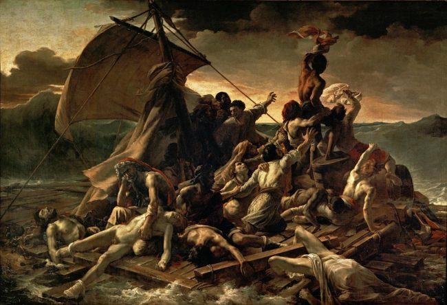 Favorite Paintings in Paris: Le Radeau de La Méduse by Théodore Géricault