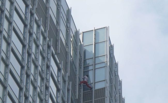 The French Spiderman is Back