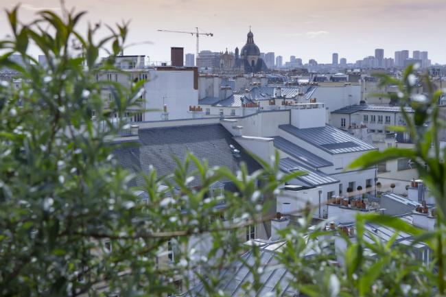 Restaurant Au Top: Rooftop Views of the Marais District
