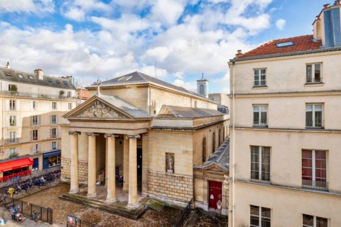 For Sale: Beautiful Marais Apartment overlooking Saint-Denys du Saint-Sacrement