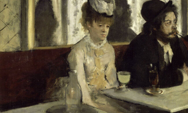 Favorite Paintings in Paris: L'Absinthe by Edgar Degas at the Orsay