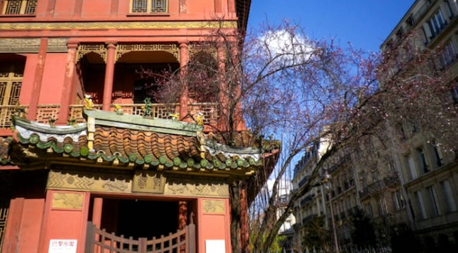 The Mysterious Paris Pagoda in the 8th Arrondissement