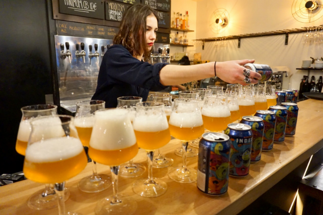 Does American Craft Beer Pair with Fine French Food? You Bet it Does!
