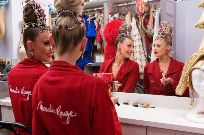 Behind the Scenes at the Moulin Rouge with one of its Sparkliest Stars