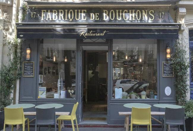 Fabrique de Bouchons: Where to Eat in the 17th arrondissement