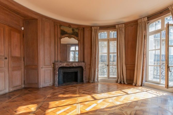 For Sale: Elegant Apartment with Rich History on Avenue Foch