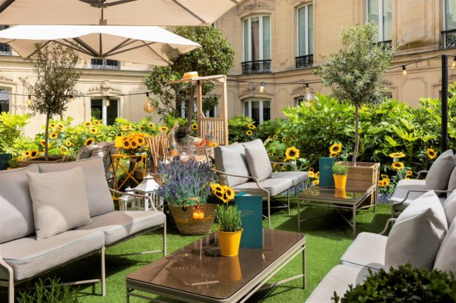 10 Best Hotel Terraces in Paris to Enjoy Summer