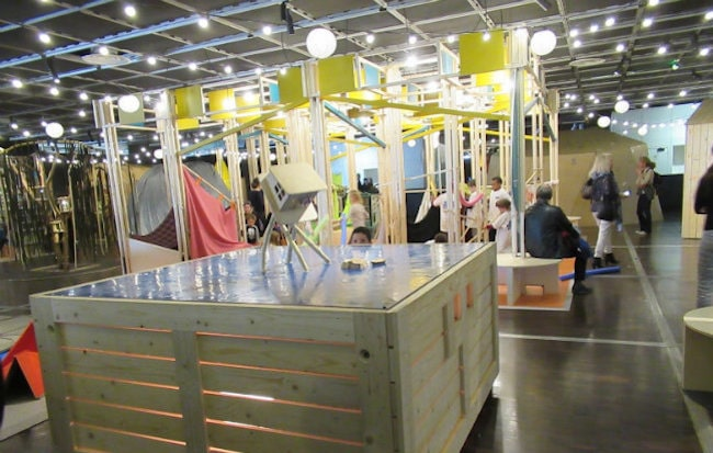 Les Cabanes at Cité des Sciences Invite Curiosity, Creativity and Comfort
