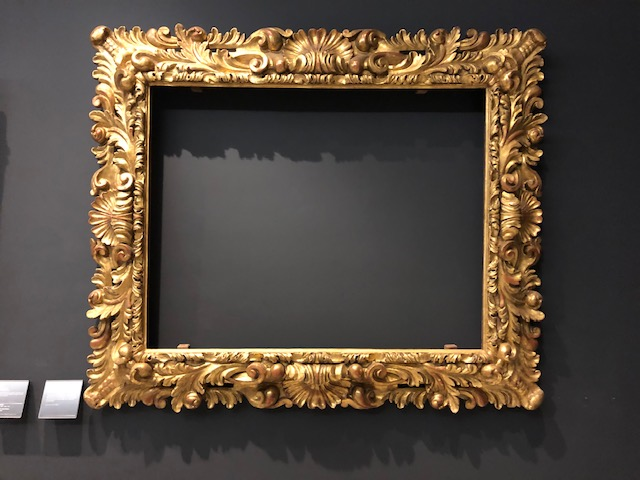 The Incredible Frames at the Louvre Museum in Paris