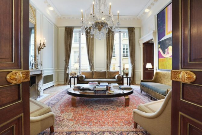 For Sale: Exceptional Apartment on Historic Rue de l'Odeon