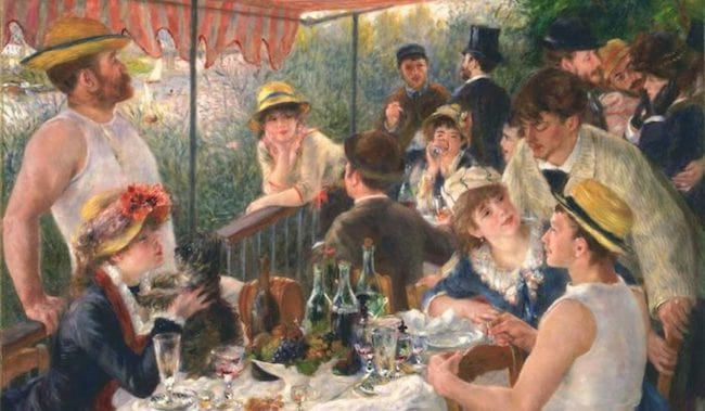 The Painter of Modern Life: Renoir and the Spirit of Baudelaire