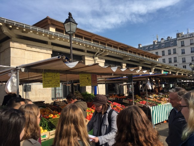 A Cultural Discovery of Marché d'Aligre with Allison Zinder