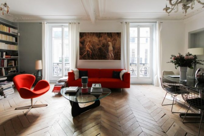 For Sale: Apartment in a Classic Haussmannian Building near the Louvre