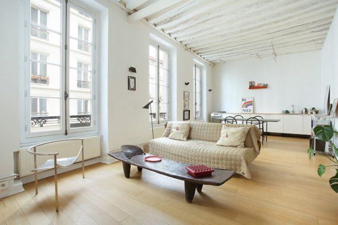 For Sale: Apartment near Square du Temple in the North Marais