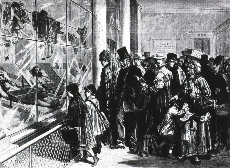 The Paris Morgue: A Gruesome Tourist Attraction in the 19th Century