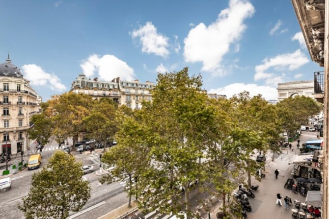 For Sale: Classic Haussmannian Apartment in the 16th