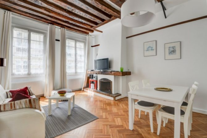 For Sale: One-Bedroom Flat in the Heart of the Marais District