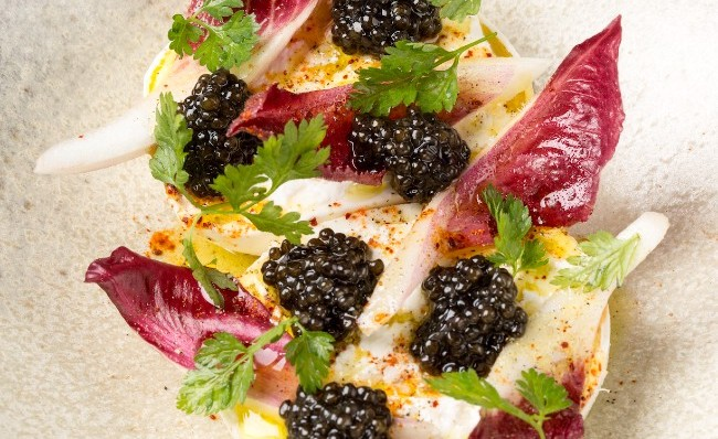 Holiday Treats in Paris: Chef Tomy Gousset and Caviar d'Aquitaine