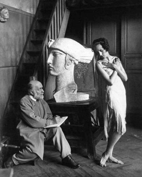 Sculptor Bourdelle