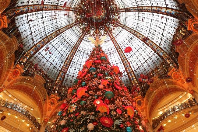 All That Sparkles This Holiday Season on Boulevard Haussmann