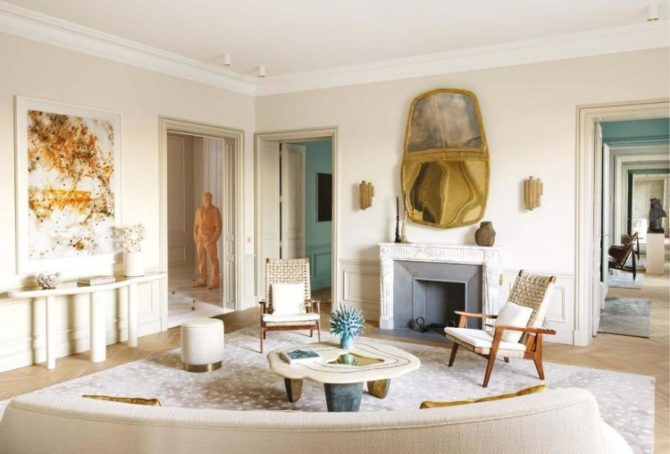 For Sale: Opulent Apartment 2 Blocks from the Eiffel Tower