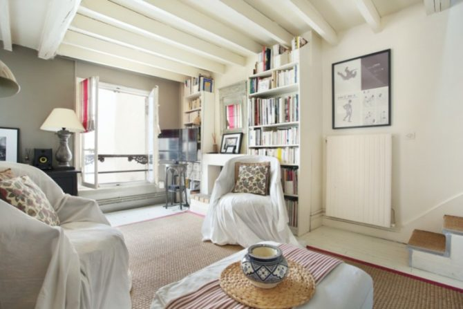 For Sale: Beautiful Top Floor Apartment in 19th Century Building