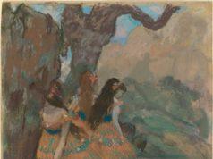 Edgar Degas (1834-1917), Ballet Dancers, 1877