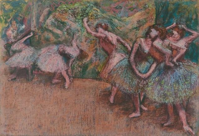 Edgar Degas, Ballet Scene, c. 1907, National Gallery of Art, Washington, DC