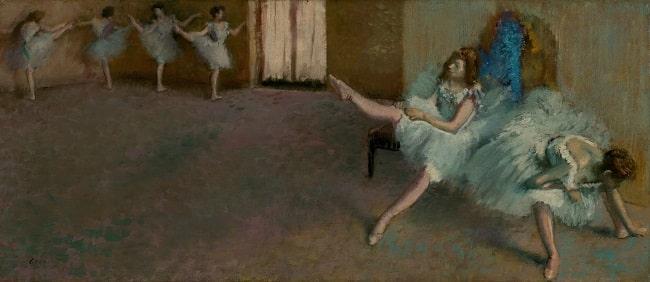 Edgar Degas, Before the Ballet, 1890 /1892, National Gallery of Art, Washington, DC