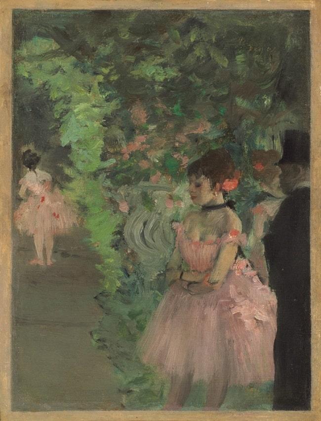 Edgar Degas, Dancers Backstage, 1876/1883, National Gallery of Art, Washington, DC