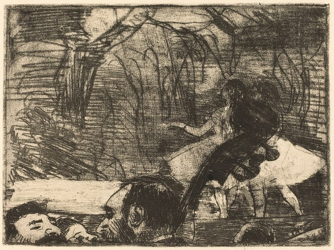 Edgar Degas, On Stage I, 1876, National Gallery of Art, Washington