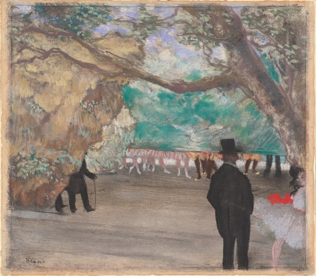 Edgar Degas, The Curtain, 1880, National Gallery of Art, Washington, DC