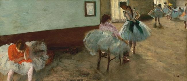 Edgar Degas, The Dance Lesson, c. 1879, National Gallery of Art, Washington, DC